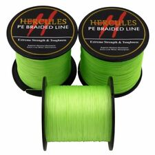 Hercules 6lb-300lb Fluorescent Green 100M-2000M Dyneema Braided PE Fishing Line