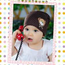1PCS Infant Baby  Lovely Hat Animal labeling Cap Children Soft Beanies Hat
