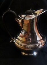 Edwardian Hallmarked Silver Water Jug by Ollivant & Botsford of Manchester
