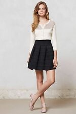 NIP Anthropologie Ponte Bell Skirt by Girls from Savoy Sz M/L Petite XS/S $128