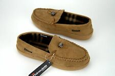Weatherproof 32 Degree Slippers with Memory Foam Thinsulate Brown or Tan