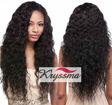 Best Curly Human Hair Lace Front Wigs 6A Brazilian Glueless Remy Hair Free Part
