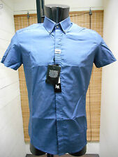 MEN'S SHIRTS SLIM ANTONY MORATO MS3331 ART. BLUE