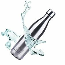 Stainless Steel Vacuum Insulated Water Bottle Thermos-Hot 12 hour - Cold 24 hour