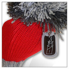 Flaming Golf POMPOM Driver Extra Long Headcover Red