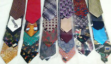 5 - Wholesale Lots Of Mens Designer Business Neck Ties Striped Solid 25 Per Lot