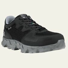 Timberland PRO Shoes Mens Powertrain Safety Toe ESD Work Shoe Black/Grey 92649