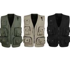 OUTDOOR MULTI POCKET GILET VEST FISHING BODYWARMER JACKET (SIZE L-XXXL)