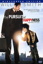 The Pursuit of Happyness (DVD, 2007, Widescreen) WATCHED ONLY ONCE!