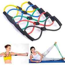 Resistance Training Bands Tube Workout Exercise for Yoga Body Building Fitness