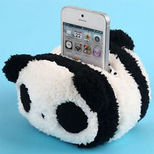 Plush Panda Rabbit Toy Mobile Phone Holder Cute Pouch Bag Case Home Phone Stands