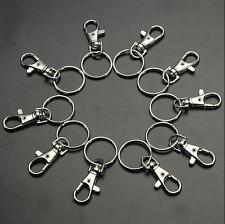 10/20 Charm Key Ring Clasps Hot Trigger Bag Clips Swivel Finding Hooks Lobster