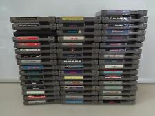 MASSIVE SELECTION Nintendo Original NES Video GAME Cartridges ONLY Great Titles