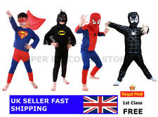 Boys Kids Childrens Superhero Spiderman Fancy Dress Costume Halloween Outfit