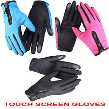 NEW Winter Outdoor Sports Cycling Bike Bicycle Full Finger Comfy Gloves