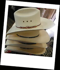 Genuine STETSON Cowboy Western Hat Shantung Panama - Choose your SIZE!