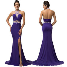 Women Sexy Long Wedding Prom Evening Gown Formal Cocktail Party Bridesmaid Dress
