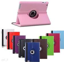 360 Rotate Smart Leather Case Cover For Apple iPad 2 3 4 / Air / Mini / iPad Pro