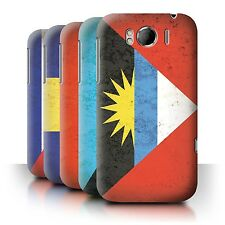 STUFF4 Back Case/Cover/Skin for HTC Sensation XL/G21/Americas Flag