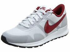 Nike Air Pegasus 83/30 Mens 599482-060 Platinum Grey Red Running Shoes