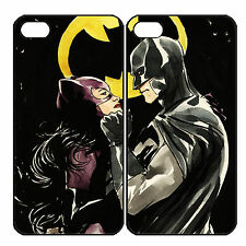 New Catwoman and Batman Couple Custom Phone Case for iPhone 6 PLUS 6 5 5s 4 4s