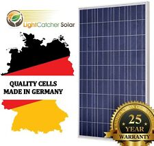 100 watt solar panel 100W 12V Poly for Off Grid RV Boat Home Battery Charge New