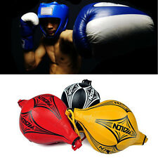 Training Punching Bag Double End MMA Boxing Kick Floor to Ceiling Speed Ball New