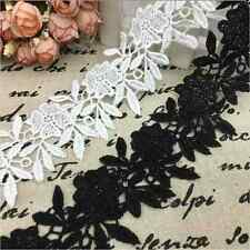 1 Yard DIY Lace For Wedding Bridal  Trim Ribbon Dress Sewing Embroidered Craft