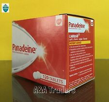 Panadeine Strength Pain Killer for Headache Flu Cold Toothache - 120 Tablets
