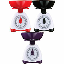 Kitchen Weighing Scales Traditional 5kg Mechanical Cooking Kitchen With Bowl New