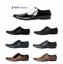 Mens New Smart Lace Up Dress Shoes Office Wedding Formal Work Size 6 7 8 9 10 11
