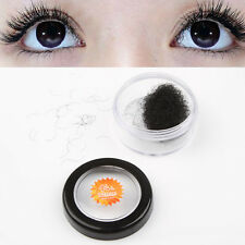 Individual Black Curl False Eyelash Extension Eye Lashes Makeup Tools Choose 1X
