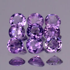 6mm Lot 1,2,6,10pcs Round Calibrated Natural Gem Light Purple Amethyst
