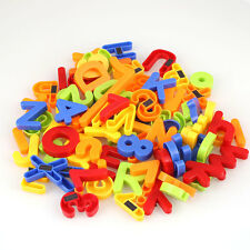 Kids Children Magnetic Alphabet Letter Maths Number Symbol Fridge Magnets 80Pcs