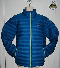 Patagonia Mens Down Sweater Jacket 800 Fill Warm Water Repellant 4 Colors SALE