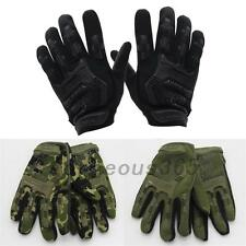 2PCS Outdoor Full Finger Gloves Military Tactical Airsoft Hunting Riding Cycling