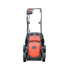 NILE Electric Lawn Mower Hand Push Lawnmower Grass Catcher 1200W High Adjustable