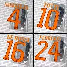 Totti 10, Roma 2016-17 home official Stilscreen name set, printings