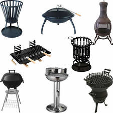 VARIOUS BARBECUES & FIREPITS SUMMER GARDEN PARTY BBQ CHARCOAL PORTABLE GAS GRILL
