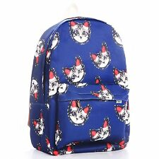 Cute Canvas Owl Rucksack Backpack School Bag