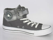 New CONVERSE CT Loopback Mid Charcoal Trainers 131261C