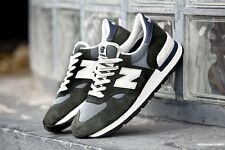 MENS NEW BALANCE NB 990 PREMIUM SUEDE M990CERI MADE IN USA CASUAL RUNNING SHOES