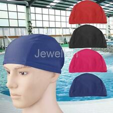 Professional Elastic Nylon & Polyester Swimming Cap Swim Hat for Men and Women