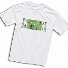 Bolton Wanderers Football Team Retro Subbuteo Style T-Shirt