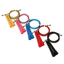 Speed Wire Skipping Adjustable Jump Rope Fitness Exercise Cardio Slim Sport 1Pcs