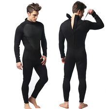 3mm Black Scuba Dive Wetsuit For Men Simple Style Wet Suit Surf Diving S-2XL New