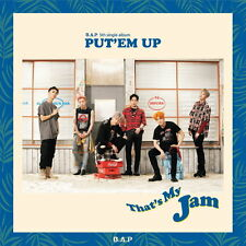 B.A.P BAP [PUT'EM UP] 5th Single CD+Photocard+Poster Option K-POP