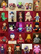 Childrens TV Cartoon & Games Soft toy Character UK BBC & Others