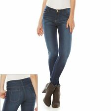 NEW! Juicy Couture Denim Jeans Pants - Knit Skinny Stretchy
