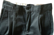 Industrial Pleated Charcoal Work Pants by Red Kap (PT32CH) 65% PE/35% Cotton